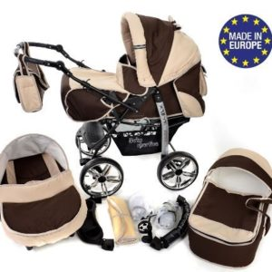 Baby Sportive 3 in 1 marrone beige
