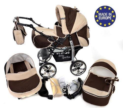 Baby Sportive 3 in 1 marrone beige