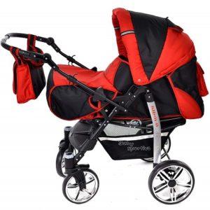 Baby Sportive 3 in 1 nero rosso