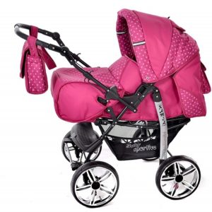 Baby Sportive 3 in 1 rosa pois