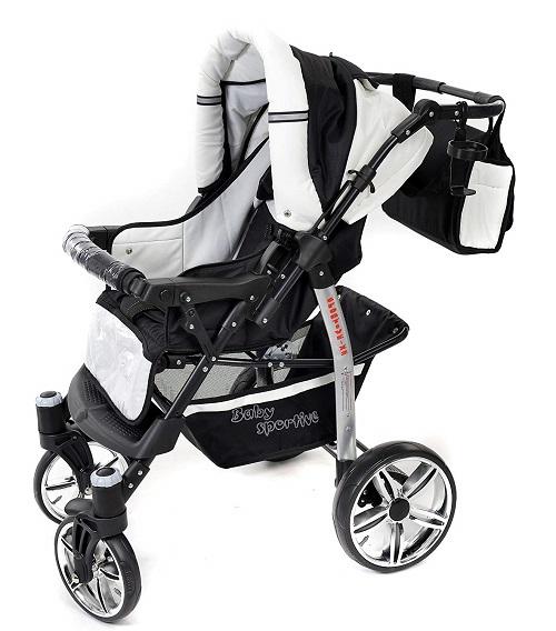 Baby Sportive x2 nero bianco