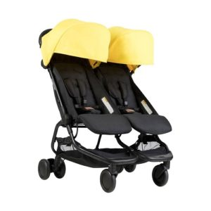 Mountain Buggy nano duo giallo e nero